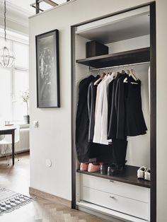 Post: Aprovechar la altura en un estudio para la cama --> aprovechar espacio, blog decoración nórdica, decoración elegante, decoración pisos pequeños, estilo nórdico escandinavo, interiores espacios pequeños, la cama en alto, mini piso nórdico, minipisos