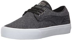 Lakai Riley Hawk Skate Shoe Midnight Textile 6 M US *** Click on the image for additional details. (This is an affiliate link) #WomensSkateboardingFootwear