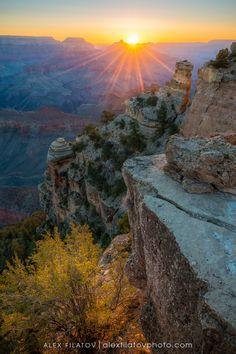 """A Grand Morning,"" Grand Canyon National Park, Arizona > alexfilatovphoto.com"