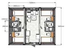 100 best FLOOR PLANS VAGONES images on Pinterest | Container houses ...