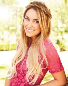 This is a really free hairstyle not only is it great length, but it is also great colour!