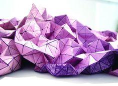 tessuto 3D folding-A-part di Mika Barr  Leggi l'articolo su www.designlover.it