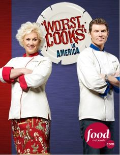 So.. I'm not a fan of these two celebrity chefs.. but Food Network is just making it too easy...