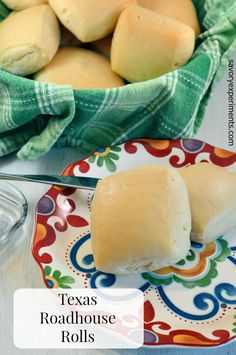 CopyCat Texas Roadhouse Rolls and Texas Roadhouse Butter Recipe-  These were PERFECT, sweet and fluffy. . My family ate the whole batch in one sitting! www.savoryexperiments.com via @savorycooking