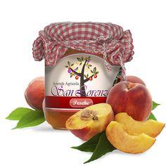 Jam jar for Azienda Agricola San Lorenzo  Photoshop mockup
