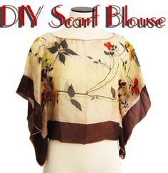 Jessamity: Project: DIY scarf blouse