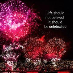 Celebrate life! #life #passion #celebrate #breakupbuddy #bub #breakup #relationshipgoals #friendship #relationship #fireworks