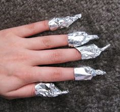 Absolutely the easiest way to remove glitter nail polish! This is a life saver!