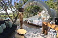 Make your dream go live at Bubble Lodge Mauritius. Spend the night under the stars, in an atypical holiday accommodation amidst nature. Bubble House, Bubble Tent, Jacuzzi, Mauritius Hotels, World Of Wanderlust, Vacation Wishes, Unique Hotels, Holiday Accommodation, Stay The Night