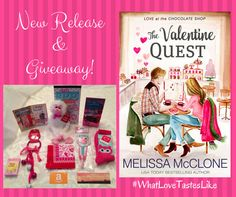 New Release and Giveaway: The Valentine Quest | Melissa McClone
