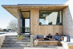Haus Am See, Weekend House, Desert Homes, Pergola, Scandinavian Home, My House, Outdoor Living, Outdoor Decor, Architecture Design