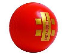 Gray Nicolls Indoor Red PVC Youth Cricket Ball