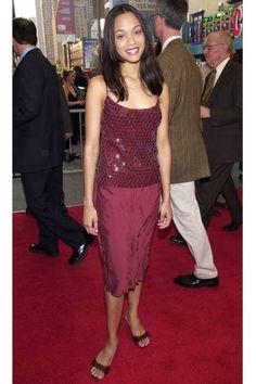 Best-ever Zoe Saldana red carpet style