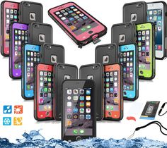 Waterproof Shockproof Dirt Proof Snowproof Hard Cover Case For iPhone 6 6S Plus #Redpepper