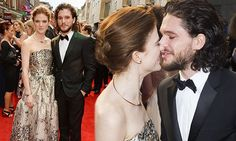Kit Harington & Rose Leslie step out for first-red carpet appearance