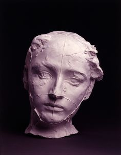 masque de camille claudel by rodin