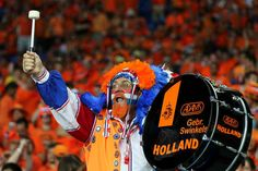 The Dutch are nicknamed the Oranje, which really shouldn't come as a surprise. | 13 Things You Need To Know About The Netherlands' World Cup Team