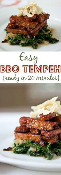 Easy BBQ Tempeh Recipe