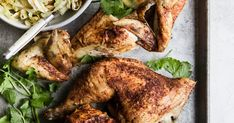 Skillet Roasted Chicken with Cabbage | The Modern Proper
