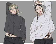 Anime Oc, Fanarts Anime, Anime Guys, Anime Characters, Anime Couples Manga, Power Rangers, Tokyo, Ship Drawing, Mini Fairy Garden