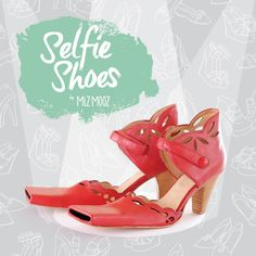 Take your selfie game to the next level with #SelfieShoes from Miz Mooz Shoes. Watch this funny video on how to take a #shoefie and even enter for your chance to win a pair. We're so excited that we ordered 10,000 pairs! #AprilFoolsDay