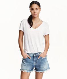 Jeansshorts Boyfriend Low | Product Detail | H&M
