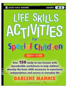FREE Life Skills Activities for Students with Special Needs  Visit our blog at promotingsuccess.blogspot.com for tons of teaching resources!