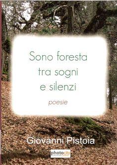 Copertina della raccolta di poesie Sono foresta tra sogni e silenzi