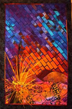 Embellished Art Quilts | Art Quilts | Crafty Quilting with Pamela