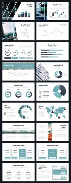 Portal Modern Powerpoint Template by Thrivisualy on Creative Market