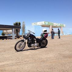 life on a motorcycle : Photo