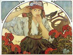 alphonse mucha gallery | Alphonse Mucha, esto es arte