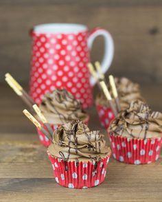 Objetivo: Cupcake Perfecto.: Cupcakes de Mikado