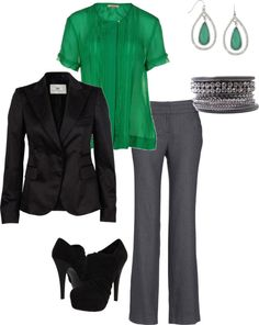 Business Formal, created by amoyer on Polyvore