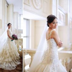 Stunning Gown By Niko Hernandez Photography Erron Ocampo
