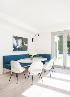 chic breakfast nook