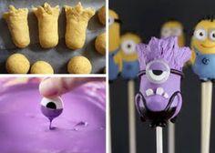 Evil Minion Cake Pops
