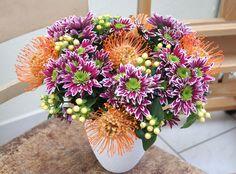 Orange, Floral Wreath, Wreaths, Blog, Html, Plants, Home Decor, Lilac, Glee