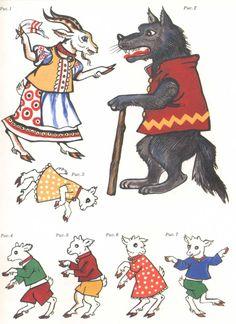 "Képtalálat a következőre: ""Картинки для фланелеграфа"" Reading Activities, Preschool Activities, Wolf, Animal Crafts, Baby Time, Kids And Parenting, Teaching Kids, Puppets, Paper Dolls"