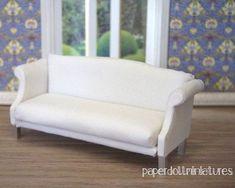 How to: Miniature sofa.: