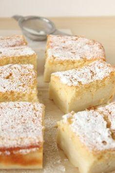 Magic Custard Cake via Cinnamon and Toast.