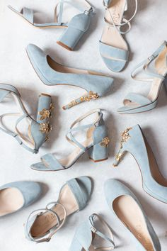 Visit our wedding shoe shop in London or buy online with worldwide shipping Blue Wedding Shoes, Bridal Shoes, Fancy Shoes, Blue Shoes, Designer Wedding Shoes, Something Blue Wedding, Cinderella Shoes, Dream Shoes, Ankle Strap Heels