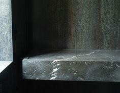 sam trimble architect | Stone basin inside the New York Penthouse by Sam Trimble.