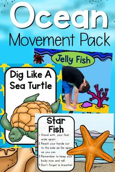 ocean themed yoga  yoga for kids ocean lesson plans