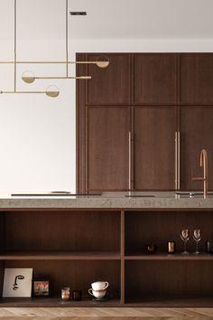 Home Design Decor, Interior Design Kitchen, Interior Decorating, House Design, Home Decor, Home Staging, Living Room Kitchen, Kitchen Decor, Adobe Photoshop