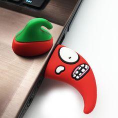 Cartoon Chili Pen Drive 128Gb 64Gb 32Gb 16Gb 8Gb 4Gb Usb Flash Drive Red Pepper Pendrive Usb Flash Drive For Gifts Usb Disk