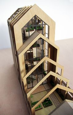 De Spanten – Woningconcept - Housing concept - Veemarkt - Utrecht - NOV'82 Architecten - Scale model - sustainable - sustainablity