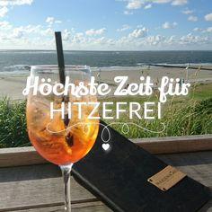 Jetzt oder nie!  #meerfreude #hitzefrei #aperolspritz #norderney #nordsee #sundowner #meer #friesland #friesischeinseln #nordseeküste #strand #chillen #insel
