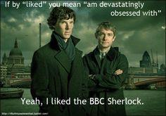 I like Sherlock