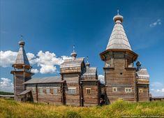 Pochozersky church, Arkhangelsk oblast, Russia